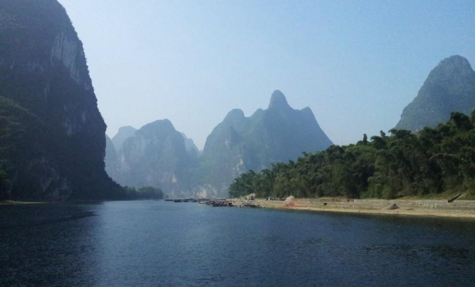 Yangshuo rzeka Li