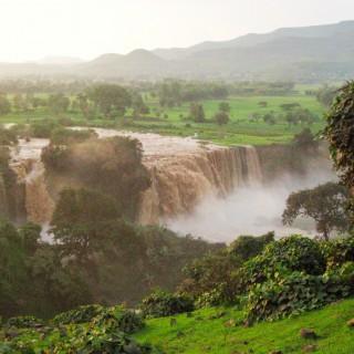 Wodospad Nilu Błękitnego
