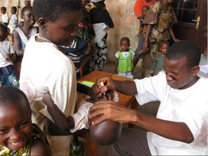 szczepienia na polio - Burundi