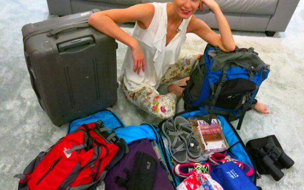 na walizkach
