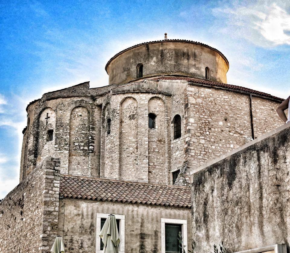 Zadar - kosciol sw Donatana