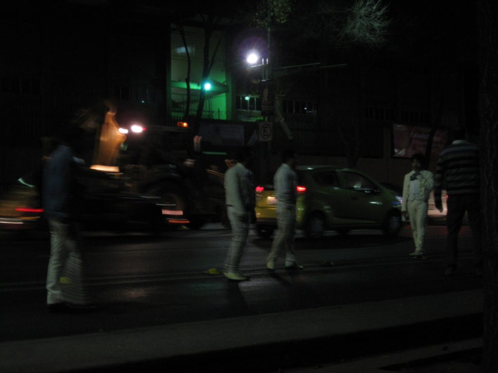 Pierwszy wieczór w Mexico City