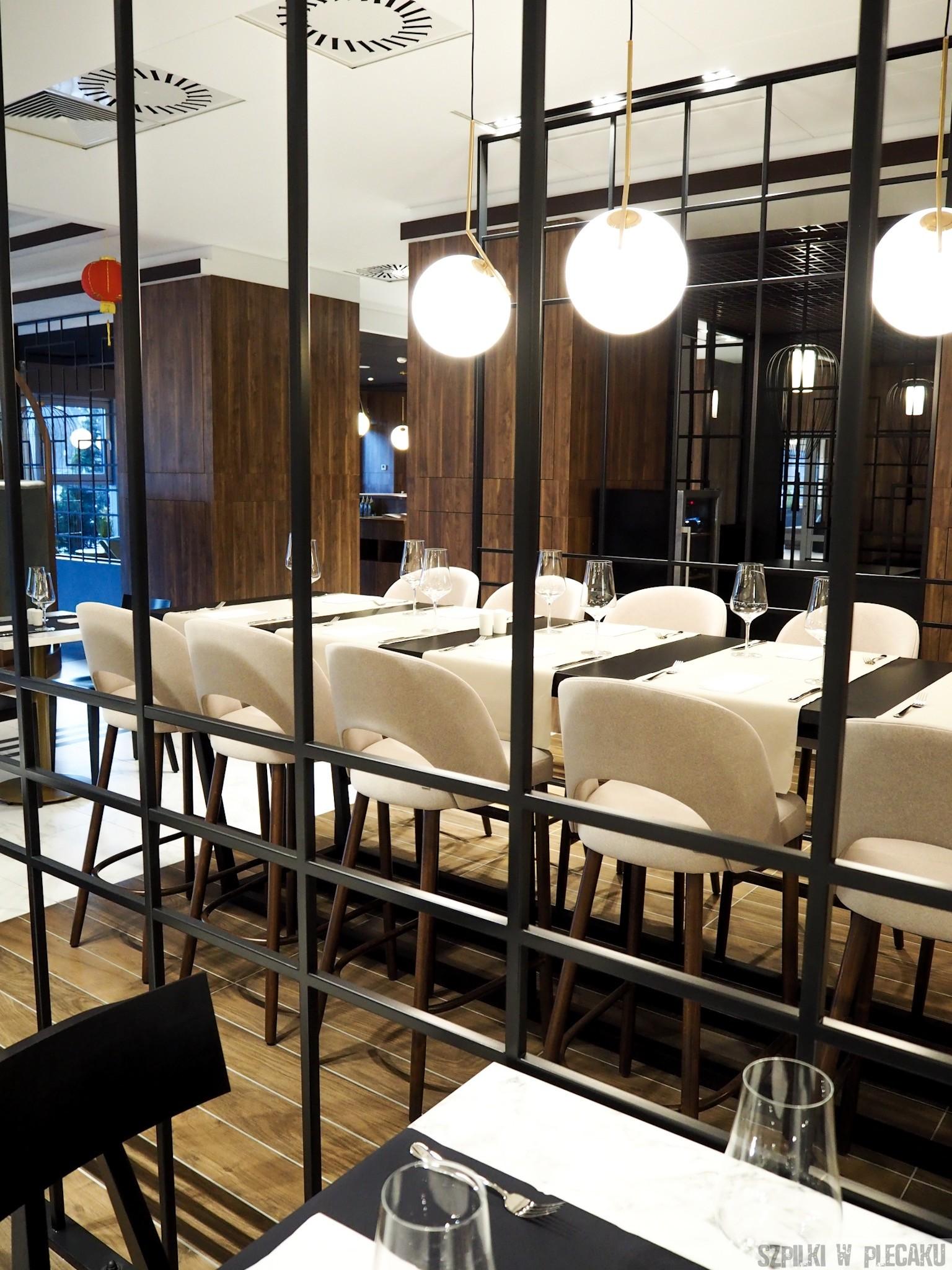 restauracja Yulan - wnetrze - Metropolo by Golden Tulip