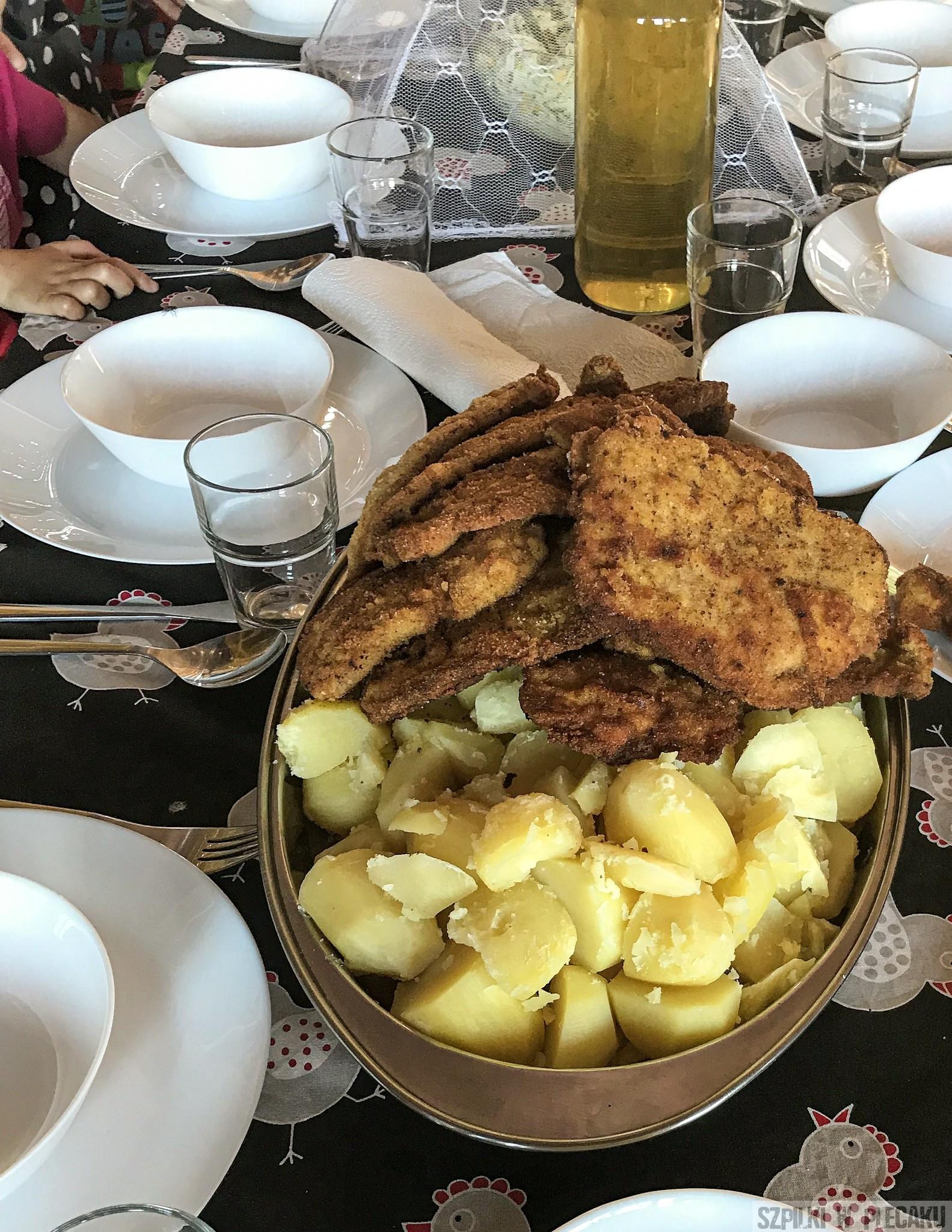 obiad - Siedlisko Leluja