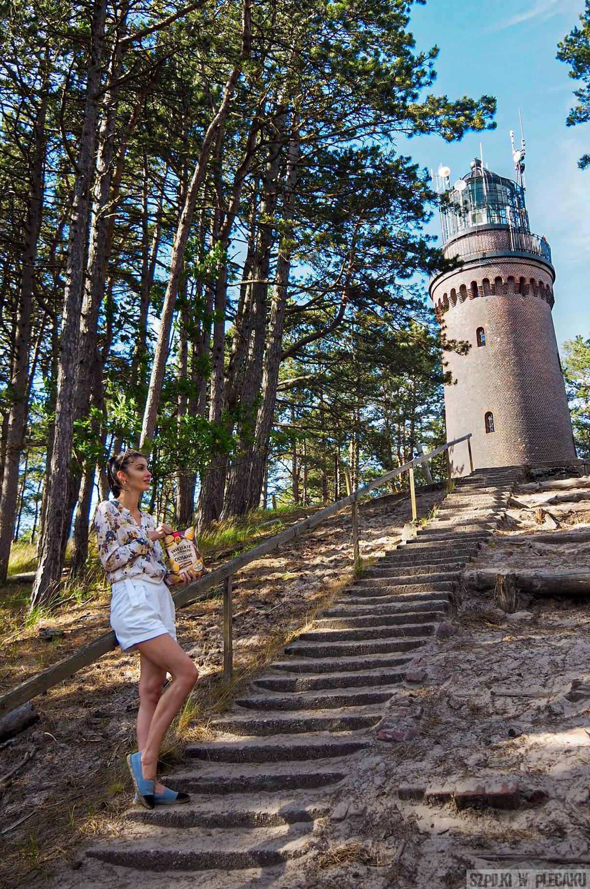 latarnia Morska w Czołpinie - Słowiński Park Narodowy
