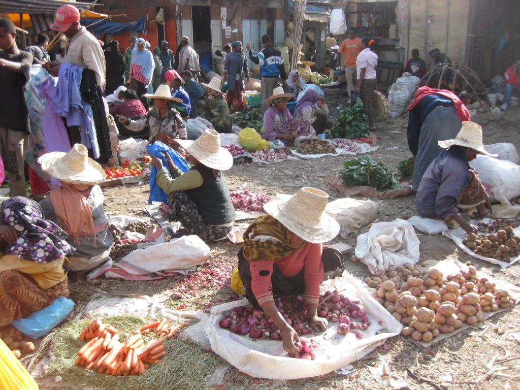 Merkato – Bazar miejski – Addis Ababa – Etiopia