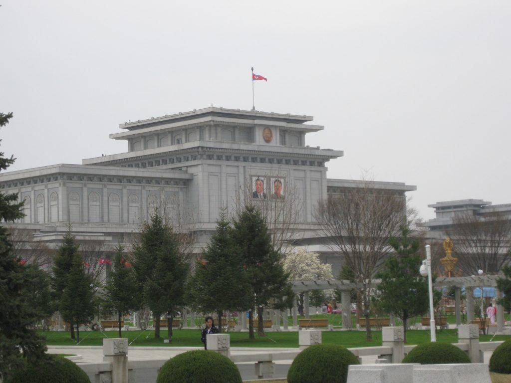 Wizyta w Mauzoleum (Pałac Kumsusan)