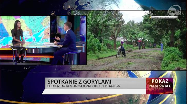 TVN24BiŚ – W poszukiwaniu goryli w Demokratycznej Republice Konga