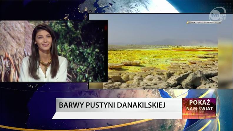 TVN24BiŚ -Tam kończy się świat – Barwy Pustyni Danakilskiej