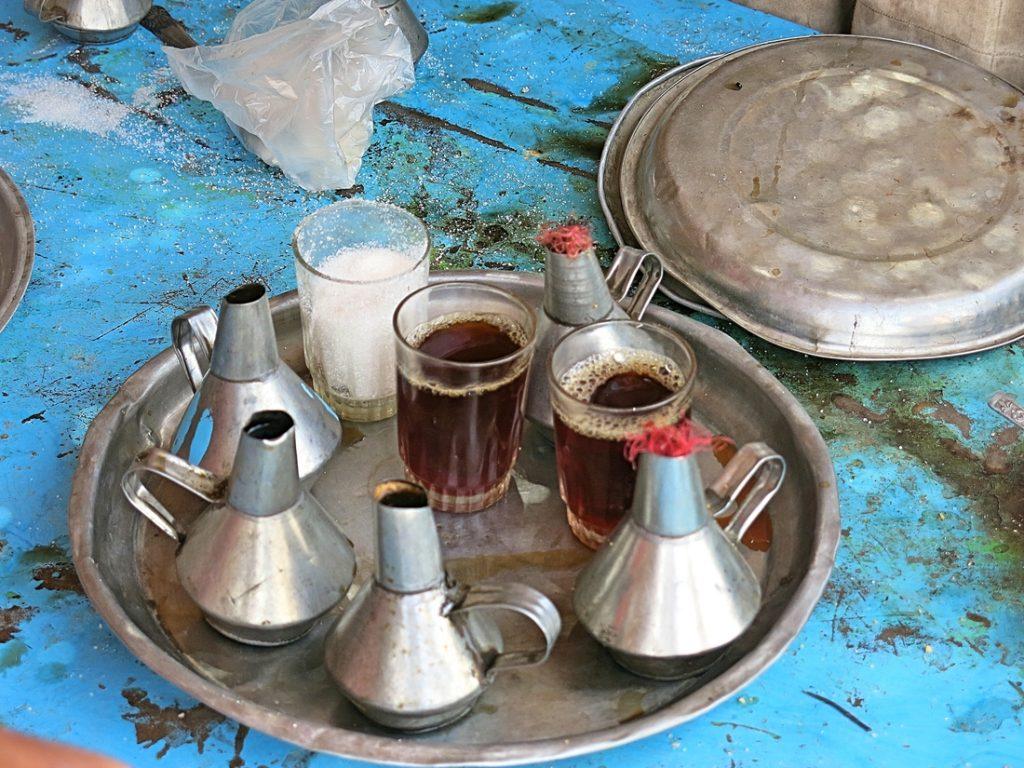 Kawa i herbata w sudańskim stylu