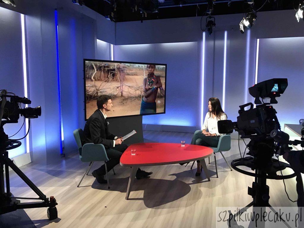 """Afryka Szpilek w plecaku w """"Halo Polonia"""" w TVP Polonia"""