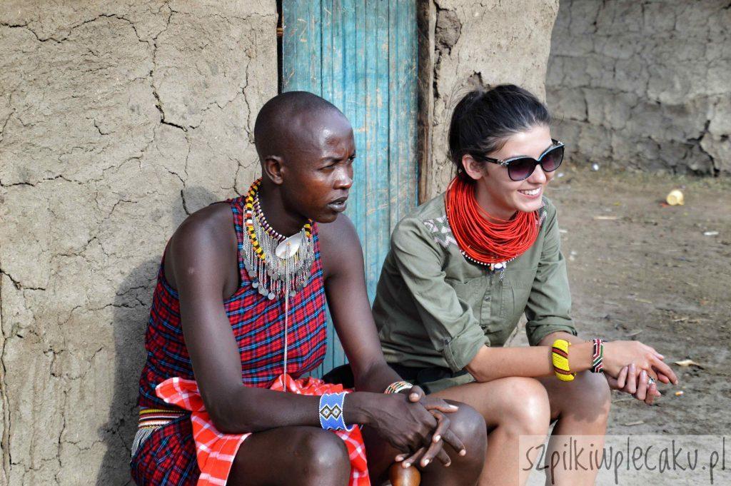 opowiadania w wiosce Masajów - szpilki w plecaku - ewa chojnowska
