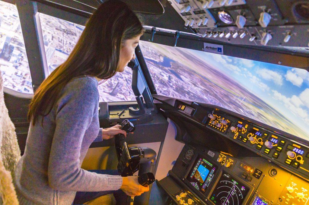 AirPoint – Symulator lotów w Warszawie czyli podniebna przygoda