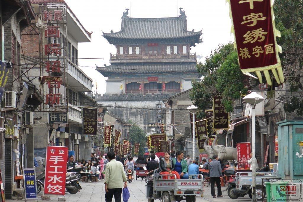 Chodnik w Chinach