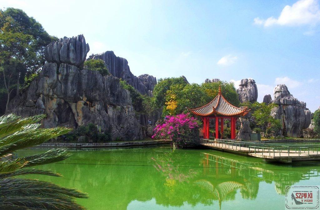 Kamienny las Kunming