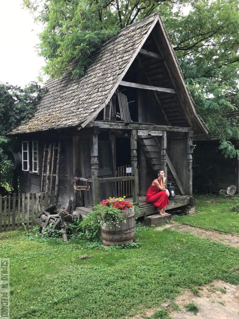 dawna chorwacka wieś