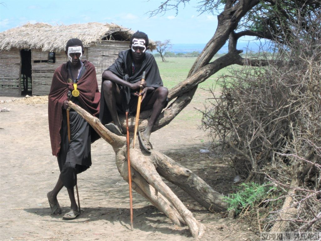Młodzi Masajowie