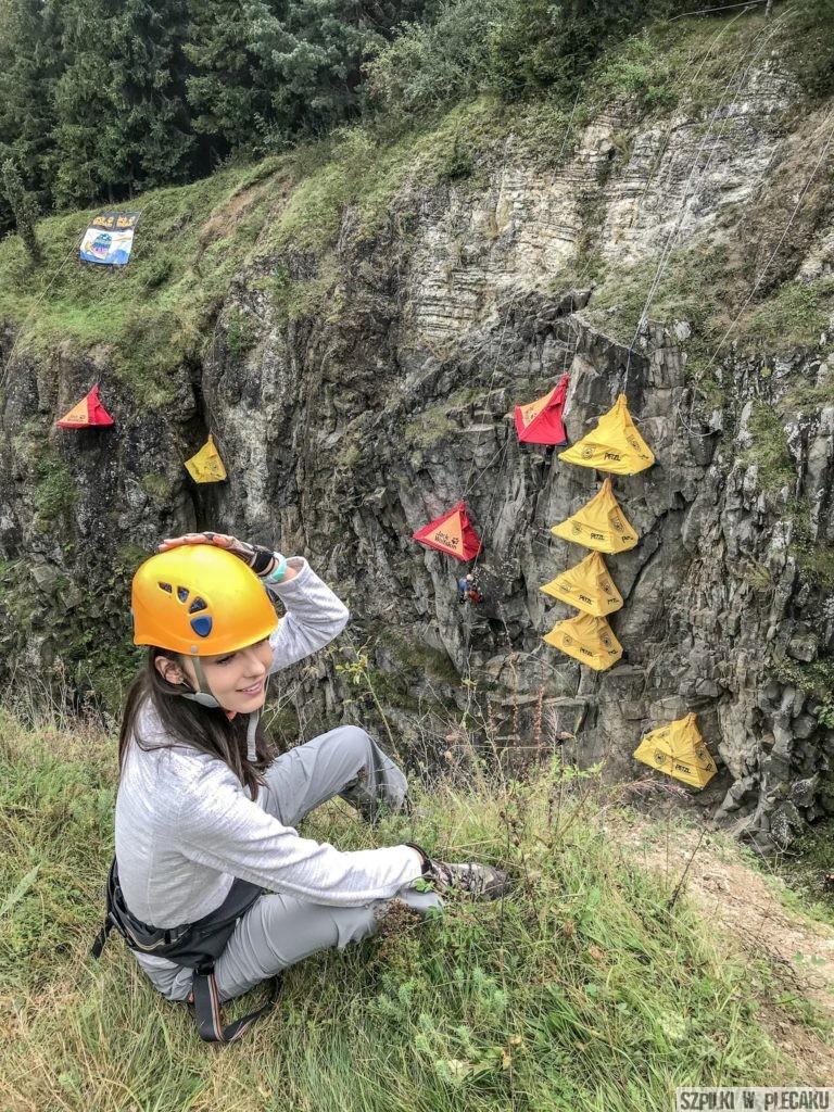 Himalaya Base Camp Ewa Chojnowska Szpilki w plecaku