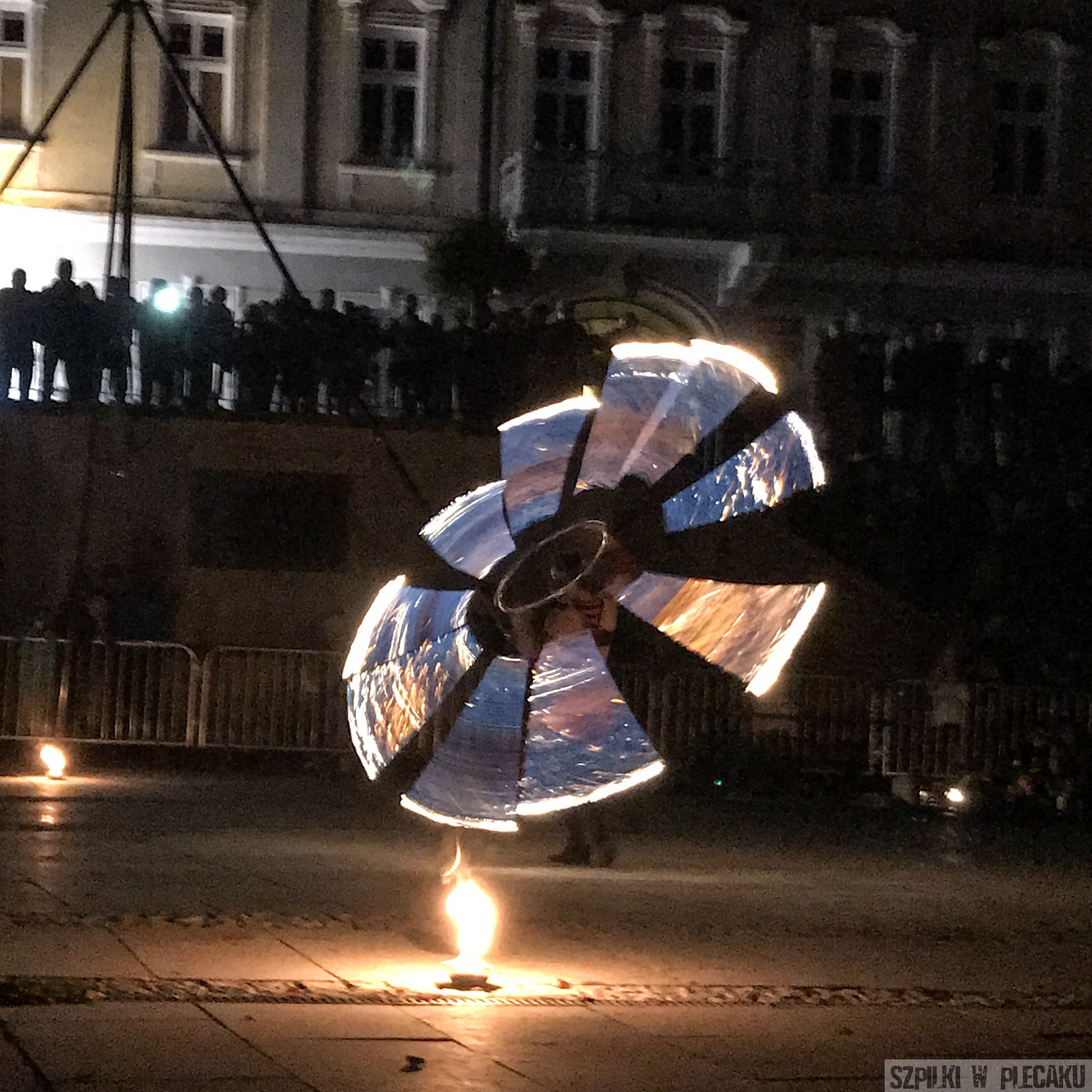 festiwal światła teatr ognia Gorlice 2018