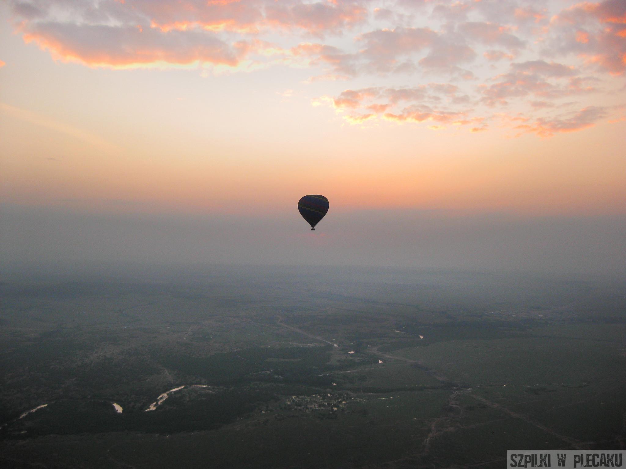 Baloon safari – lot balonem nad Masai Mara