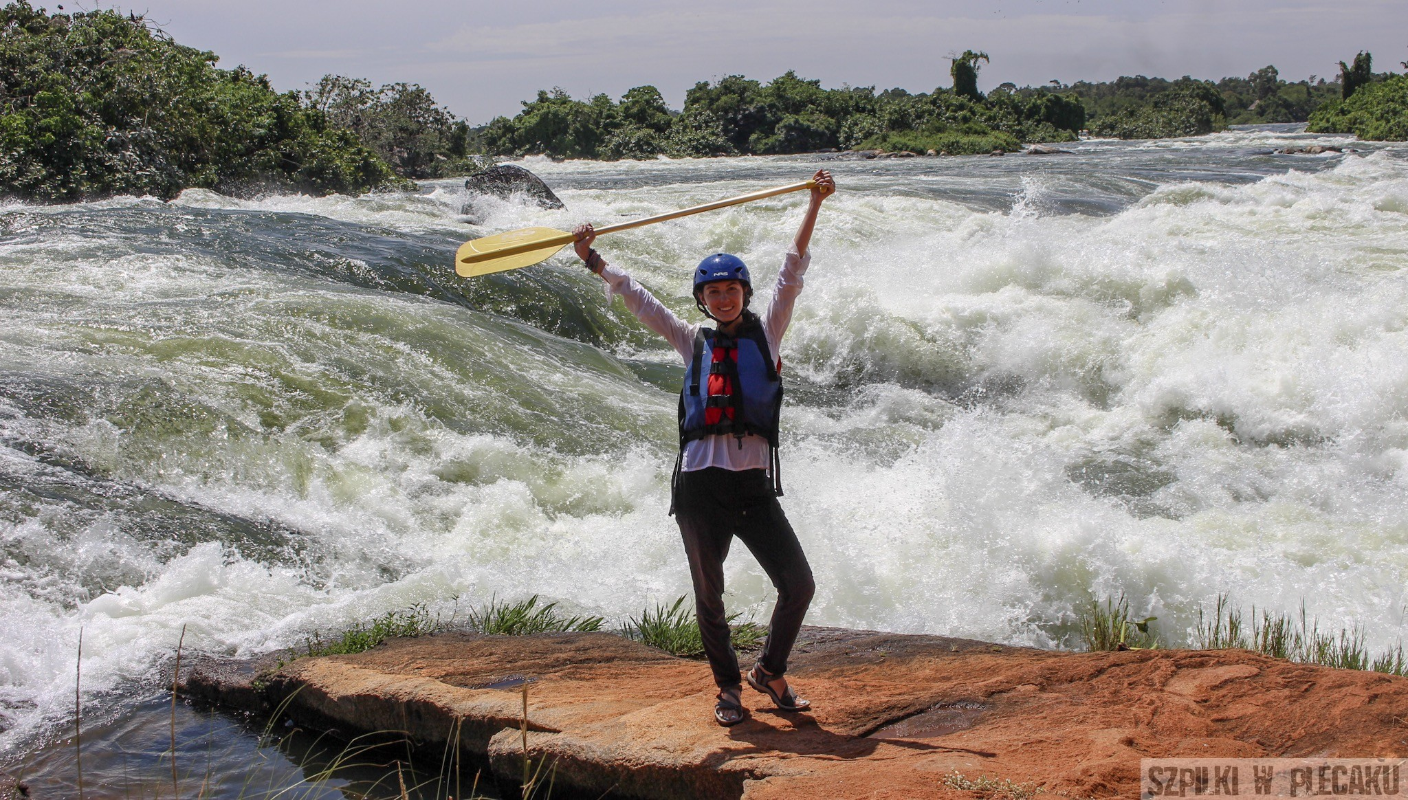Uganda: rafting na Białym Nilu