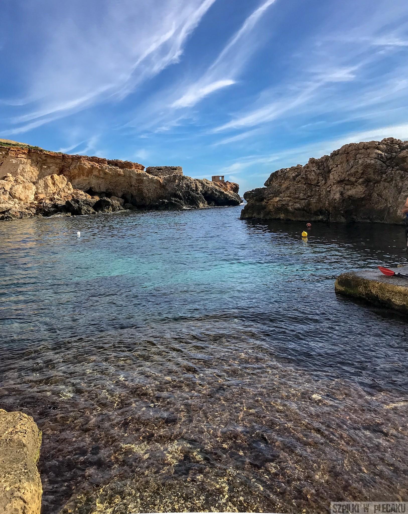 Malta - plaża