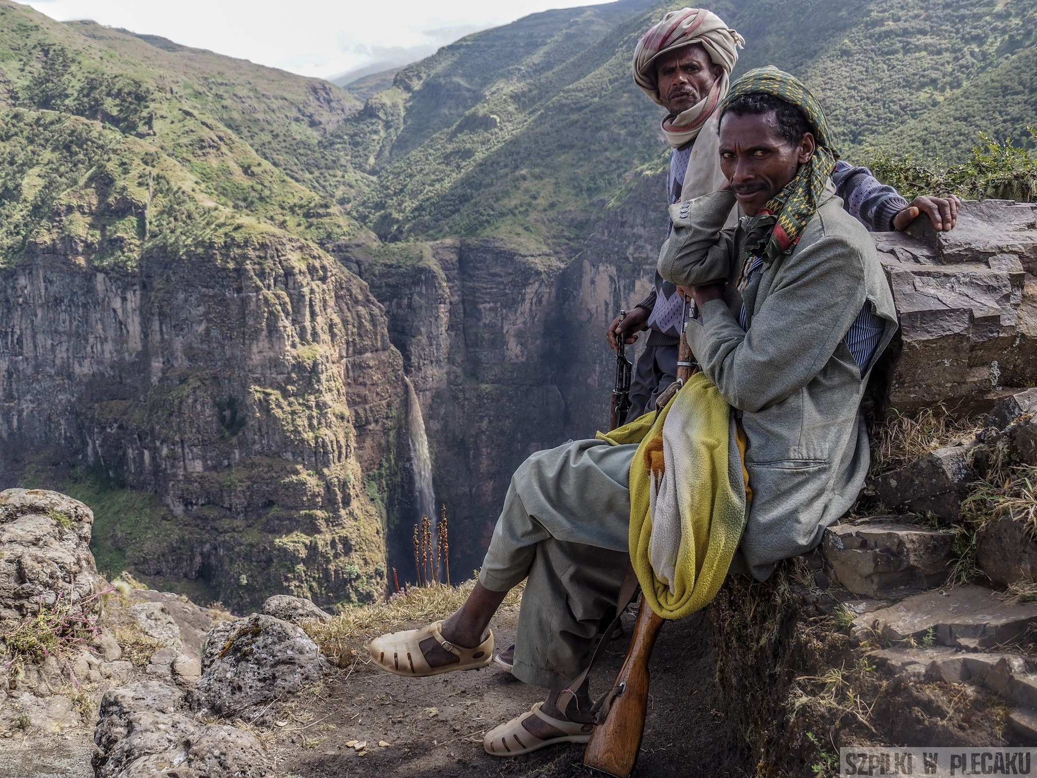 Simien mountains guard