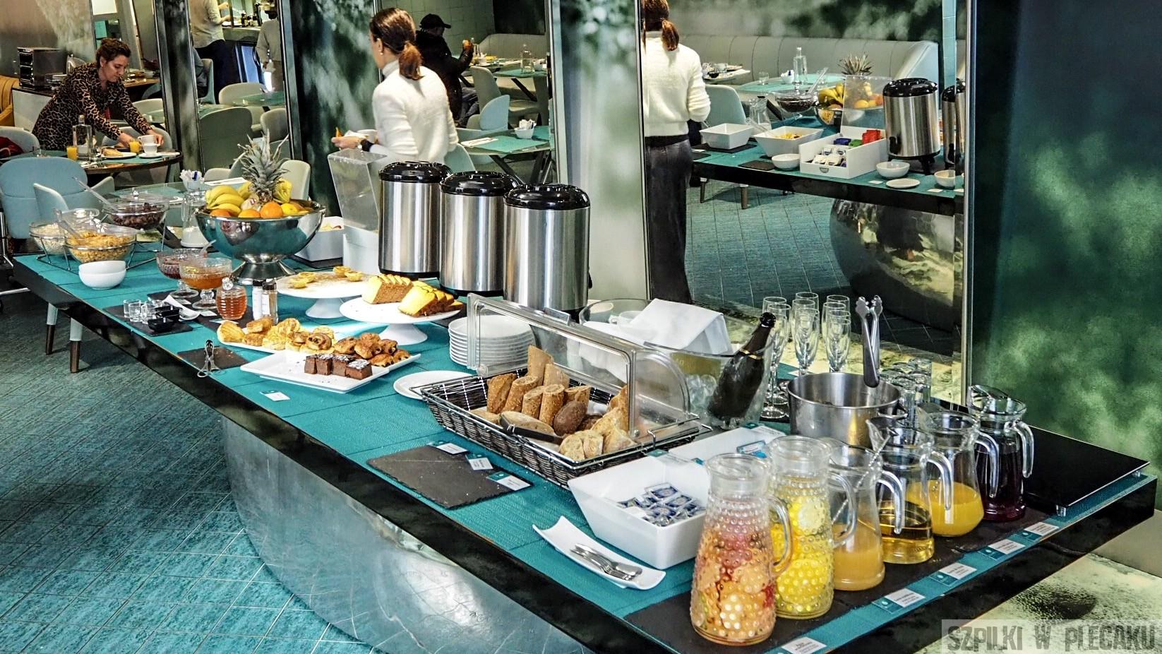 śniadanie WC boutique hotel