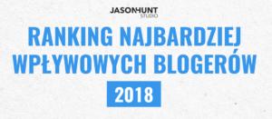 najbardziej wpływowy bloger 2018