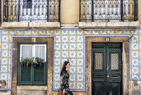 Lizbona - ulice