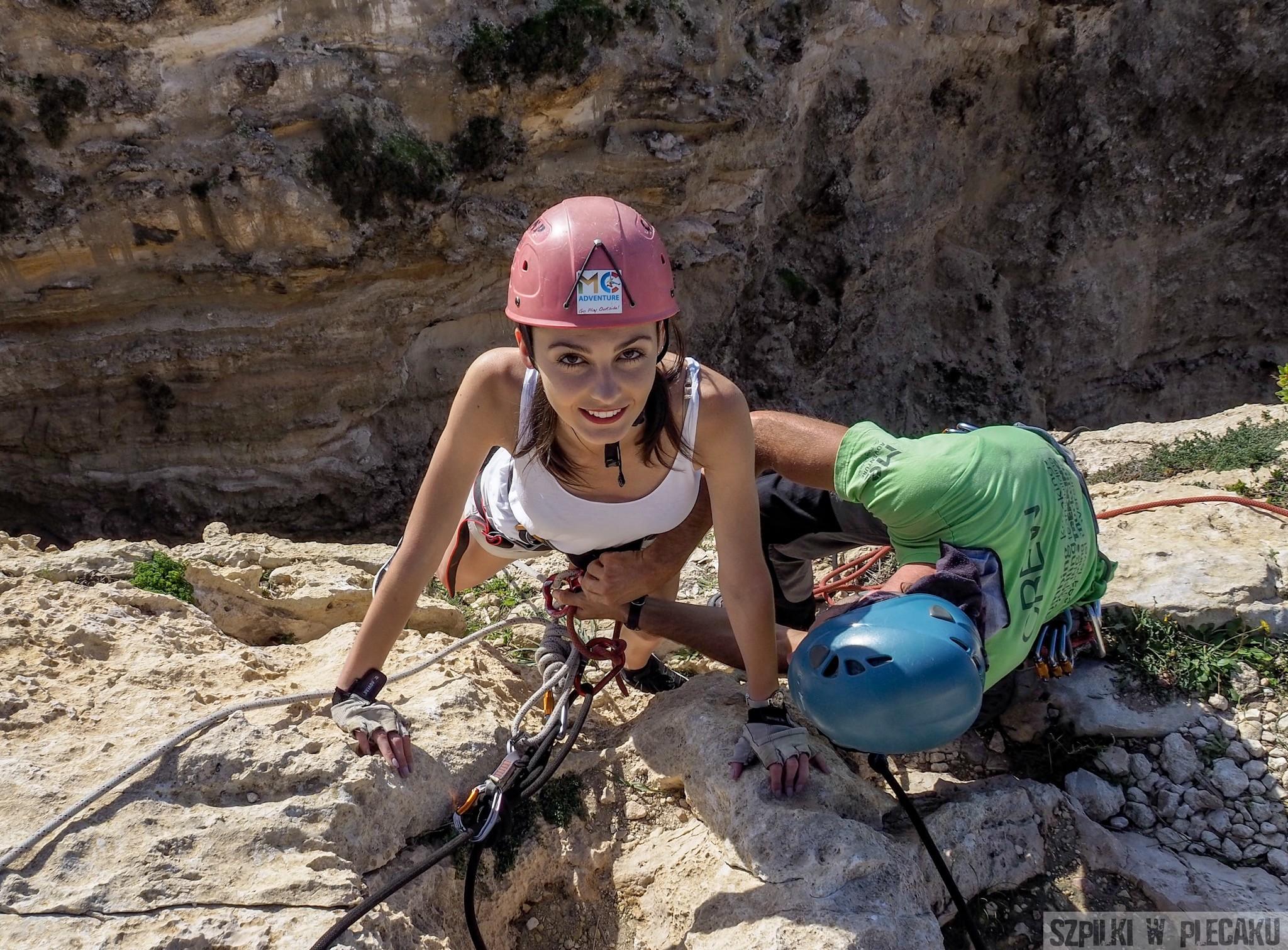 Malta Wspinaczka Klify