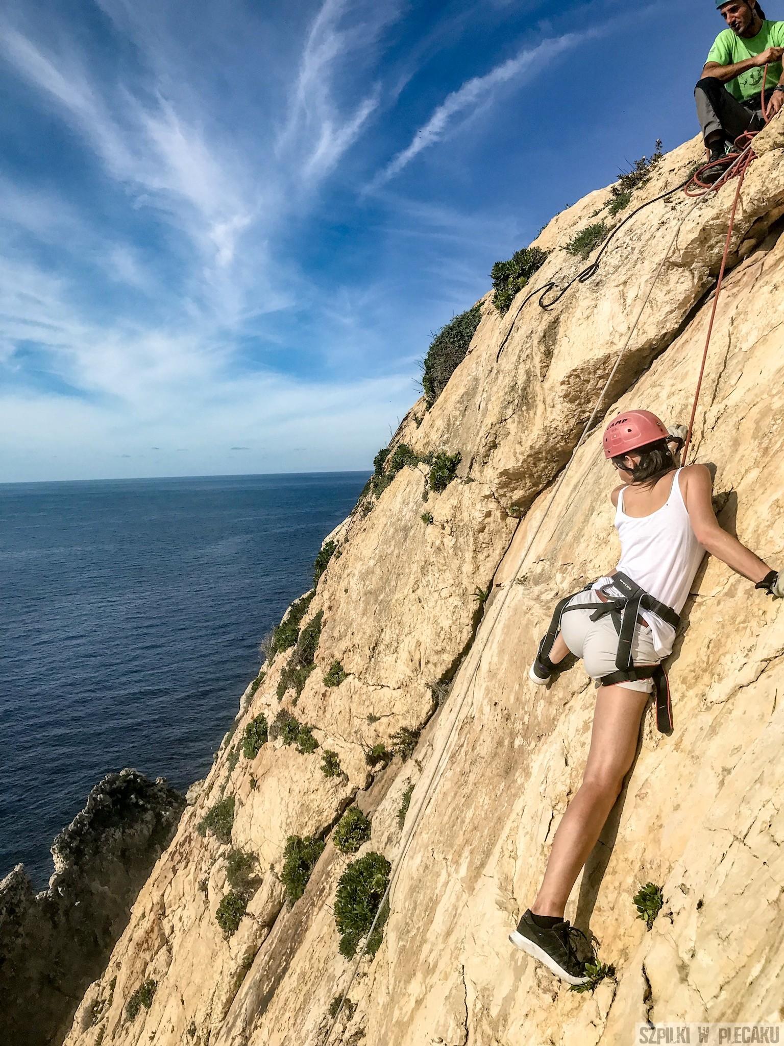 wspinaczka Xaqqa cliffs 1