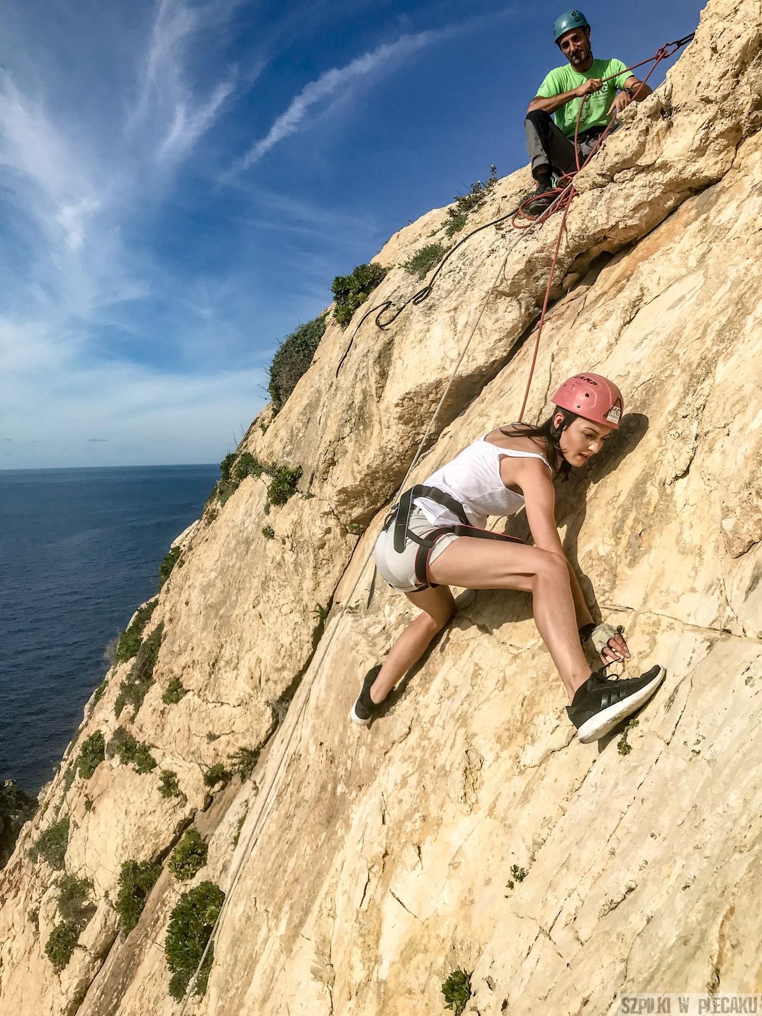 wspinaczka Xaqqa cliffs 2