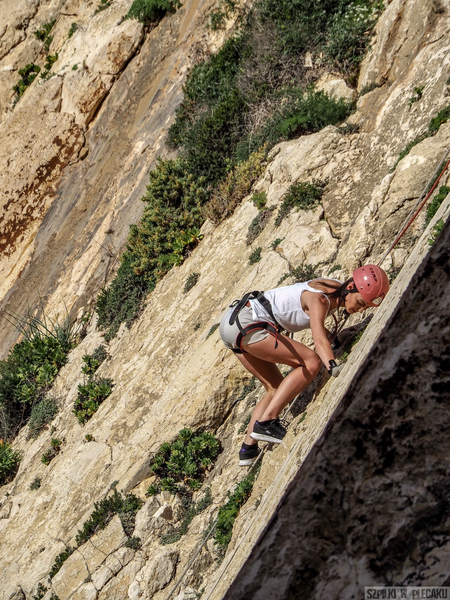 wspinaczka Xaqqa cliffs