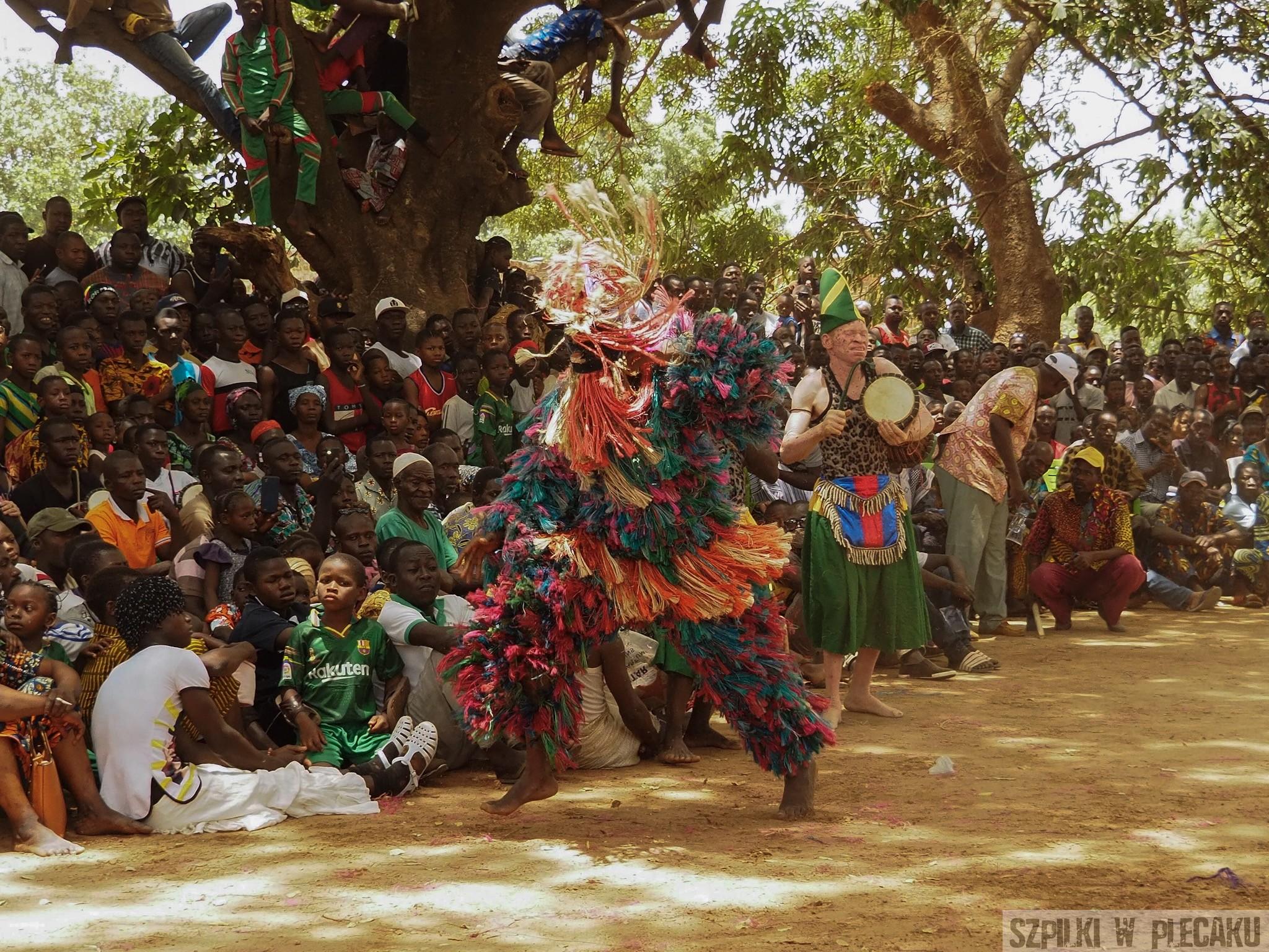 Mask Festiwal Burkina Faso - Maskarada 2019