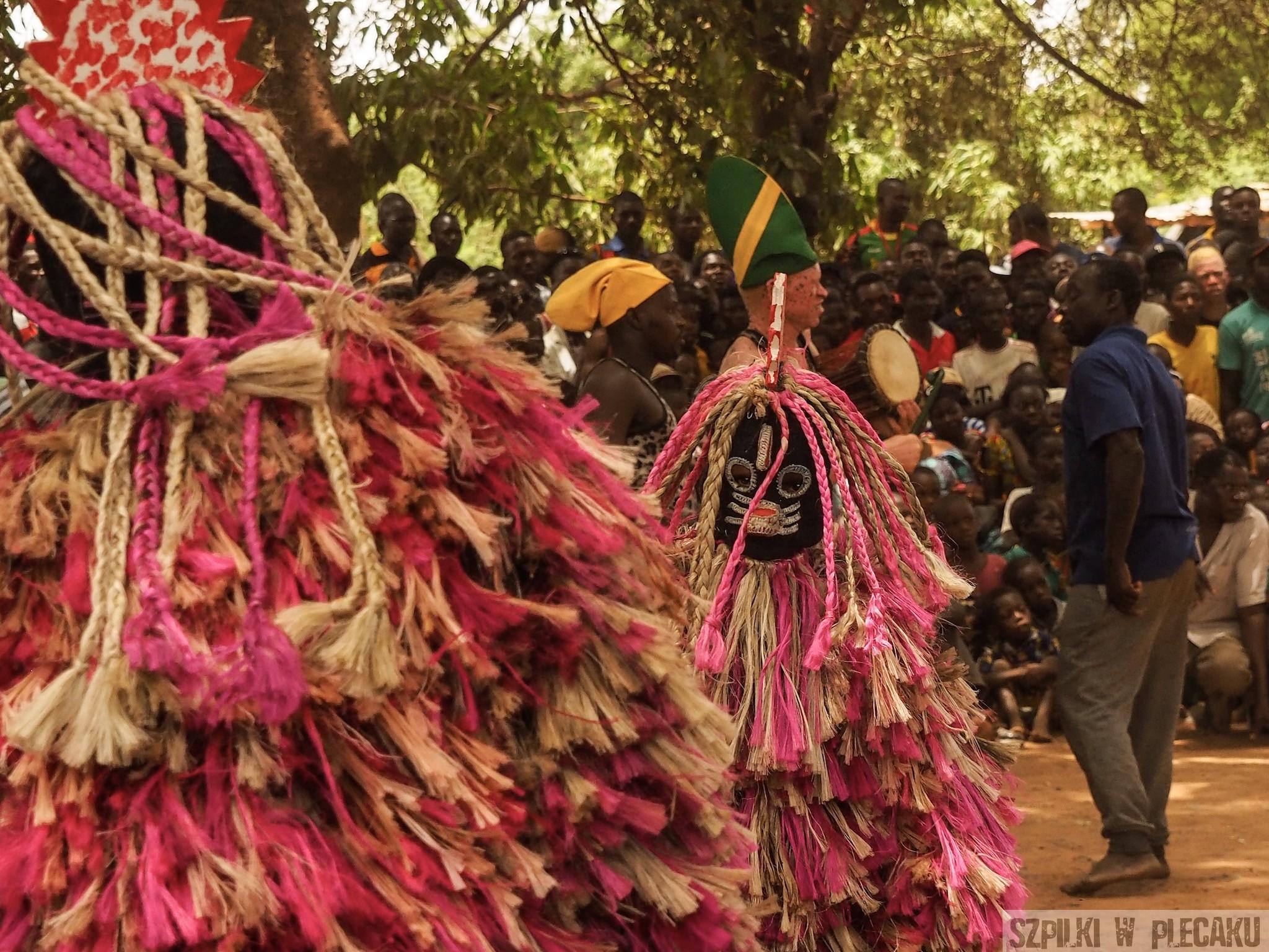 Mask Festiwal Burkina Faso - Maskarada