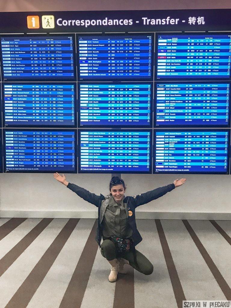 Air France lotnisko Paryż