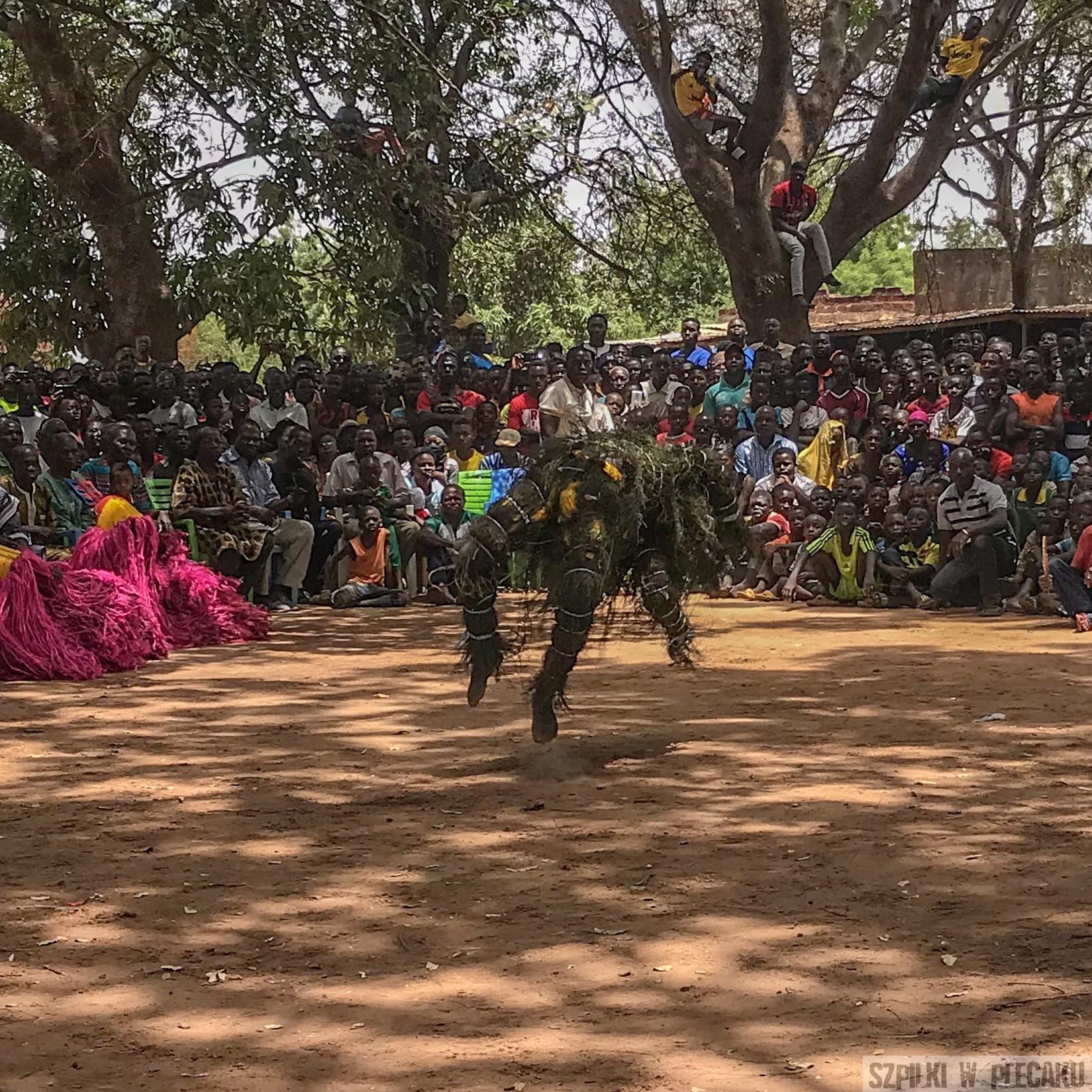 mascarade festiwal - Dogona - Burkina Faso