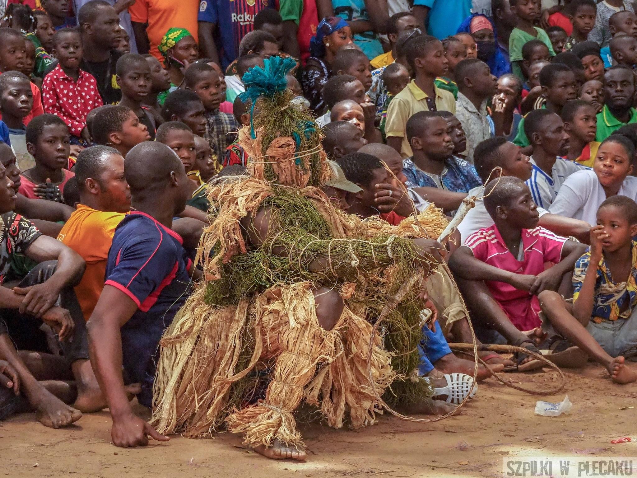 maskarade festival Murkina Faso blessing