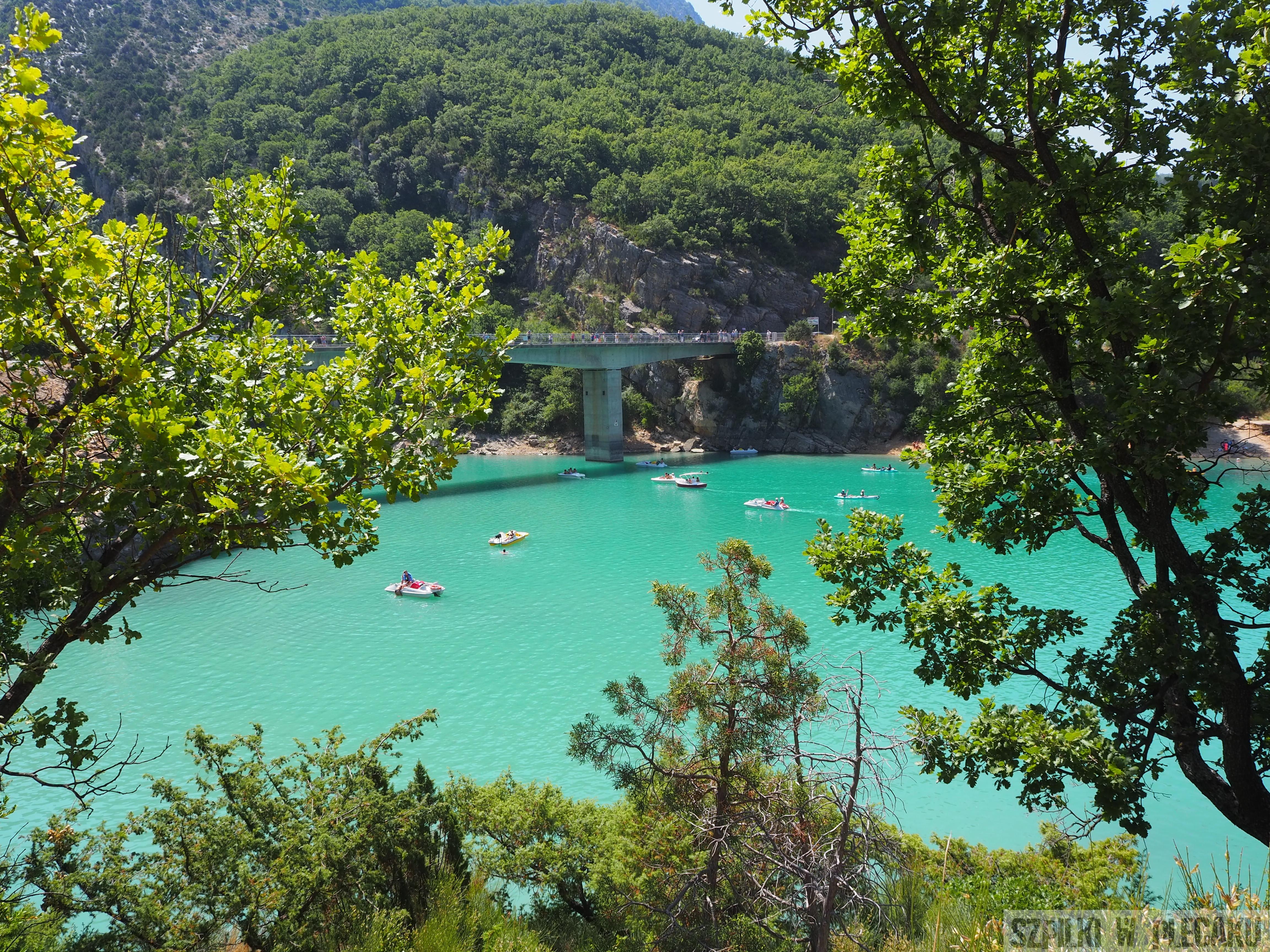 Prowansja -Lac Saint-Croix