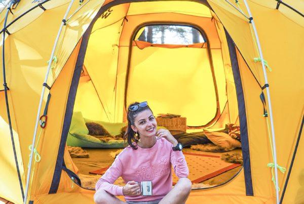 #gobackpack camp - Szpilki w plecaku - Szwecja