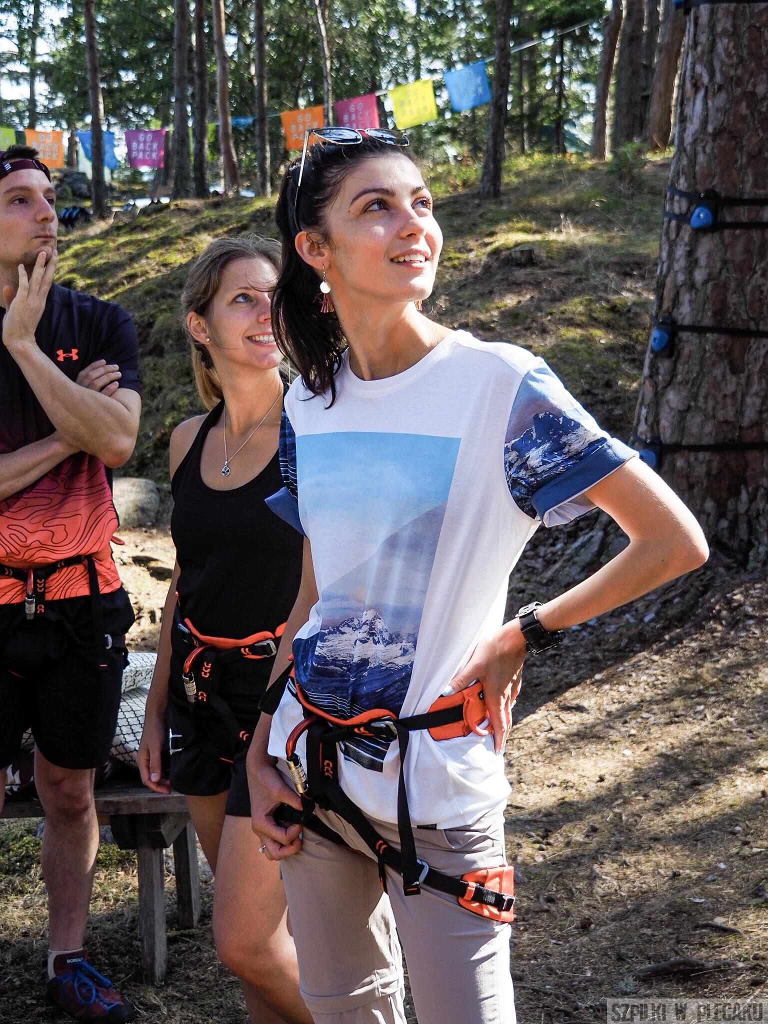 #gobackpack camp - Szpilki w plecaku - Szwecja - Ewa Chojnowska-Lesiak