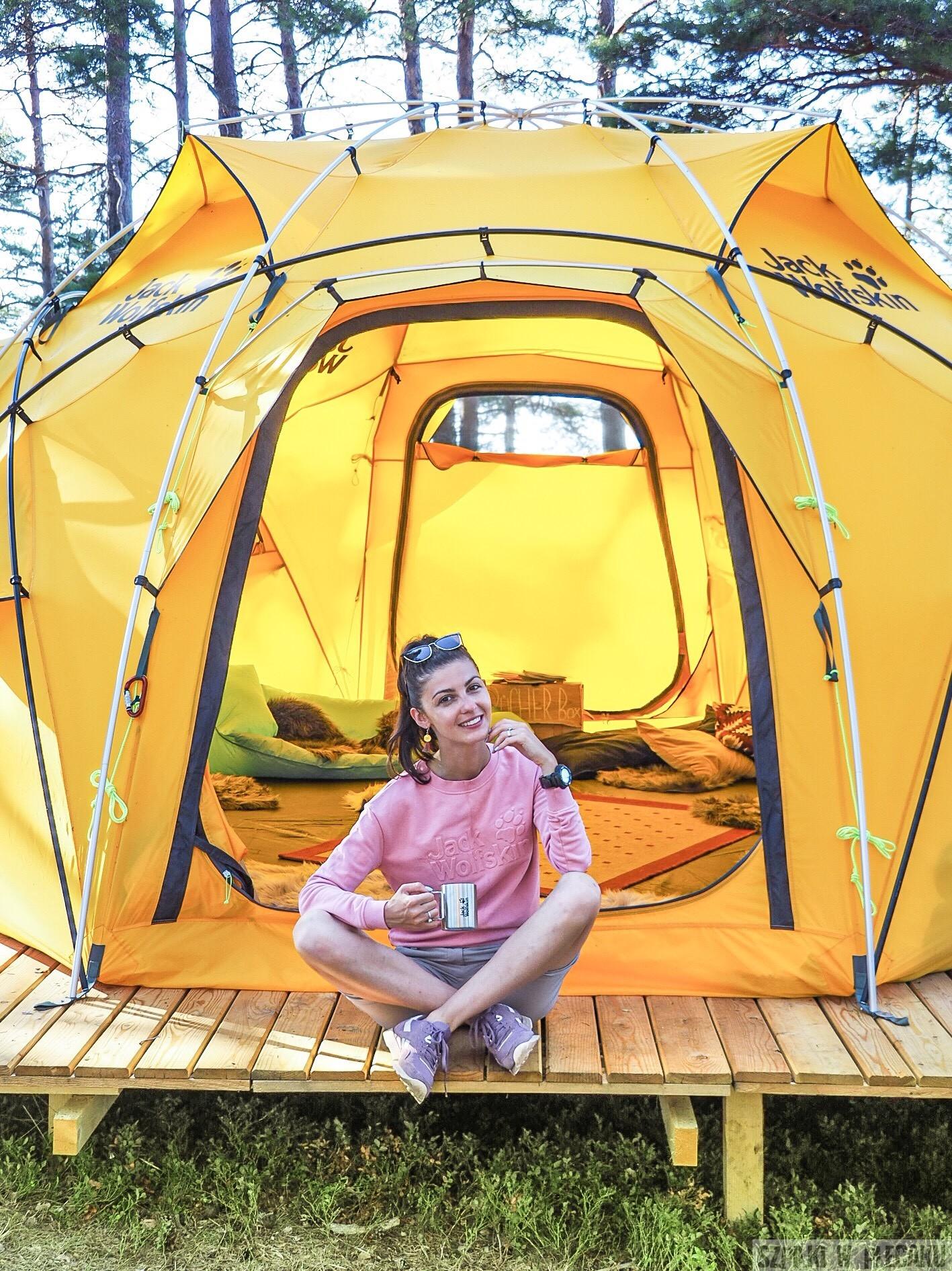 #GOBACKPACKCAMP czyli weekend na prywatnej wyspie w Szwecji