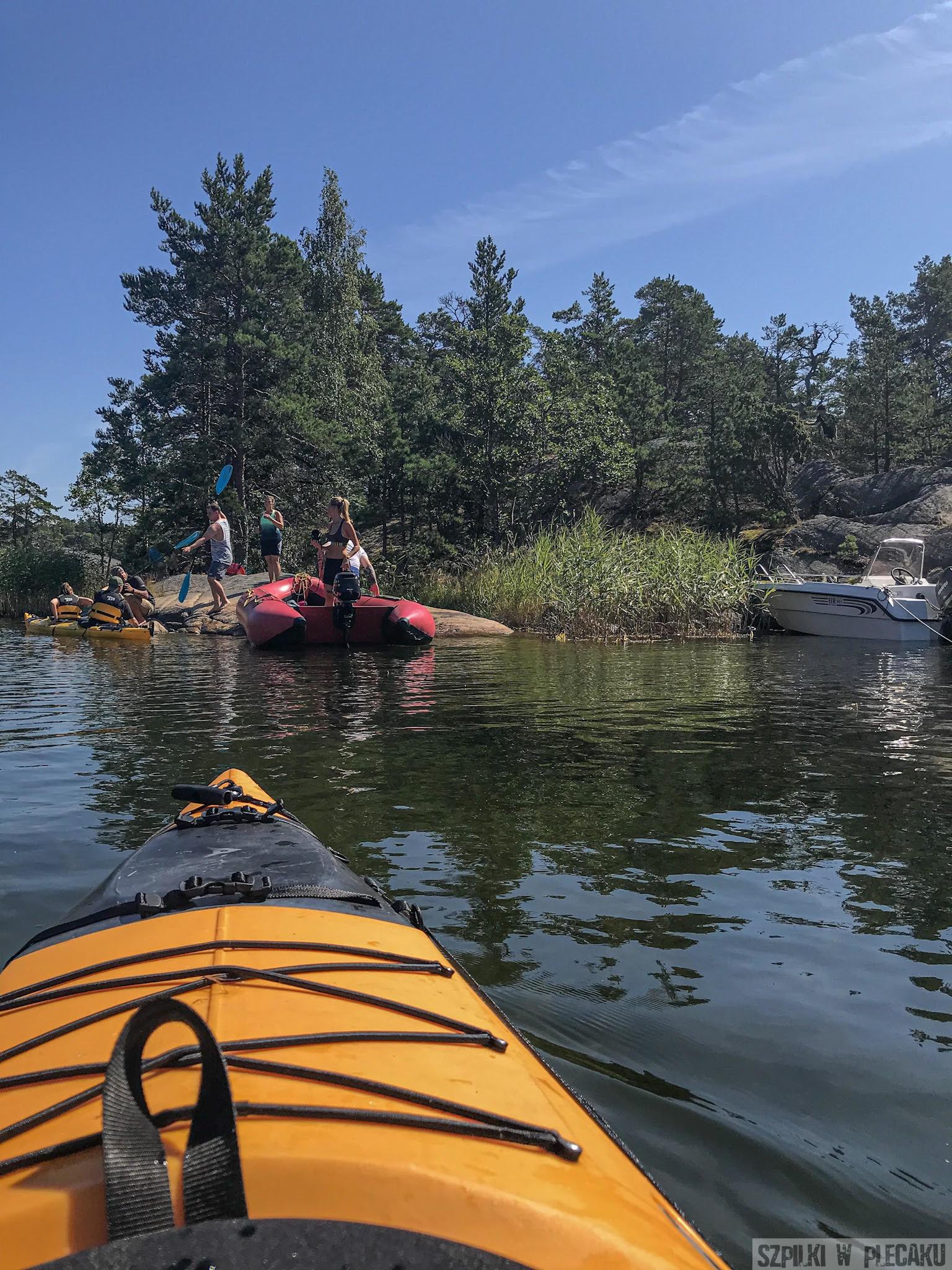 #gobackpack camp - Szpilki w plecaku - kayaking