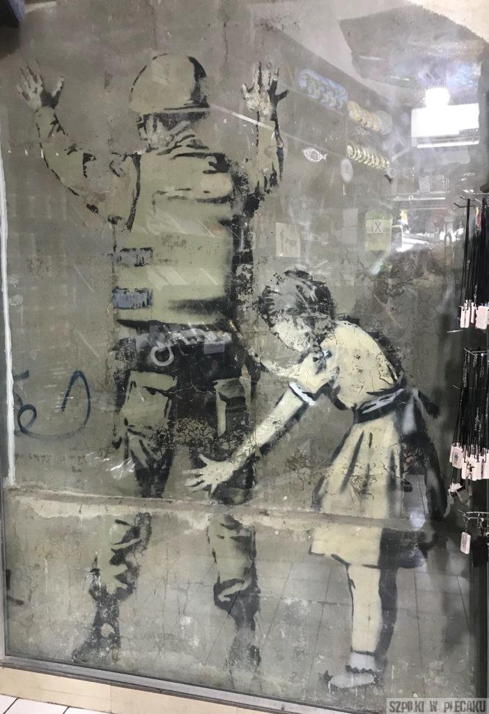 Banksy Palestyna Betlejem