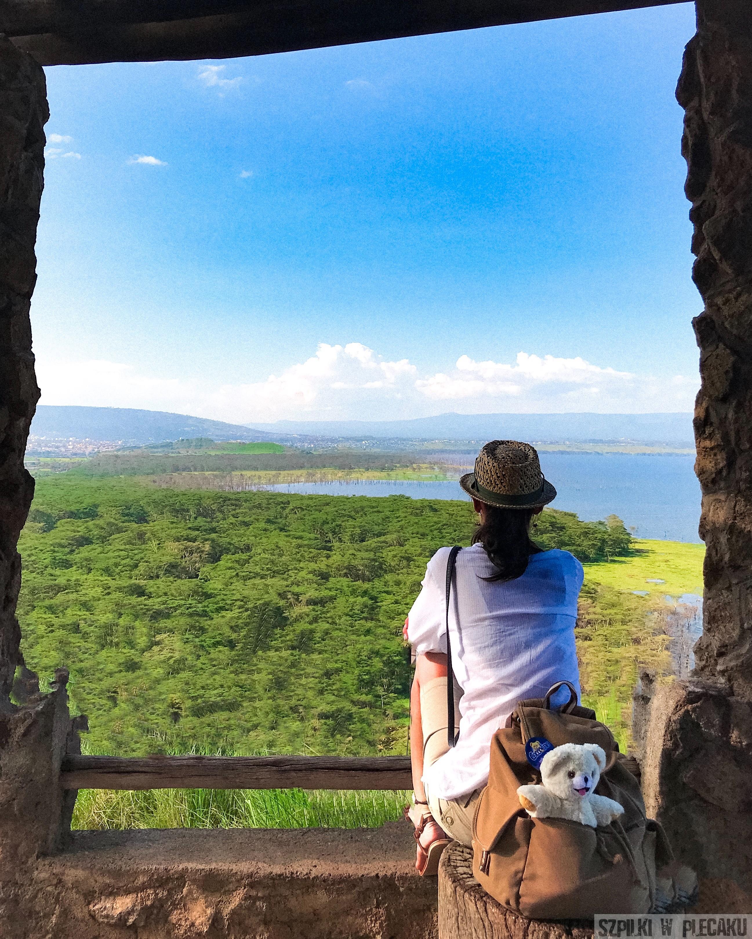 Jezioro Nakuru- Kenia - Szpilki w plecaku