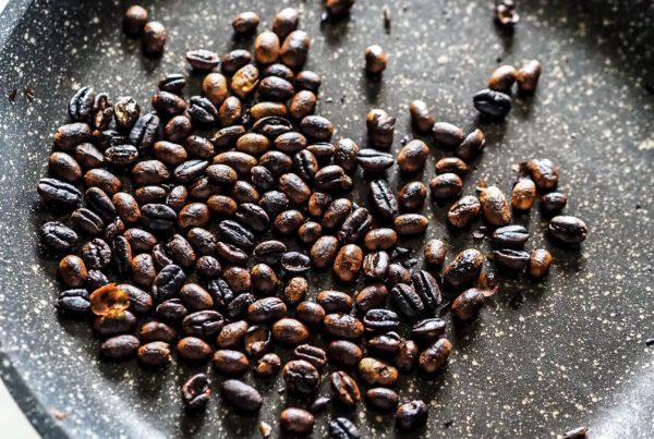 Palenie kawy etiopskiej etap 3