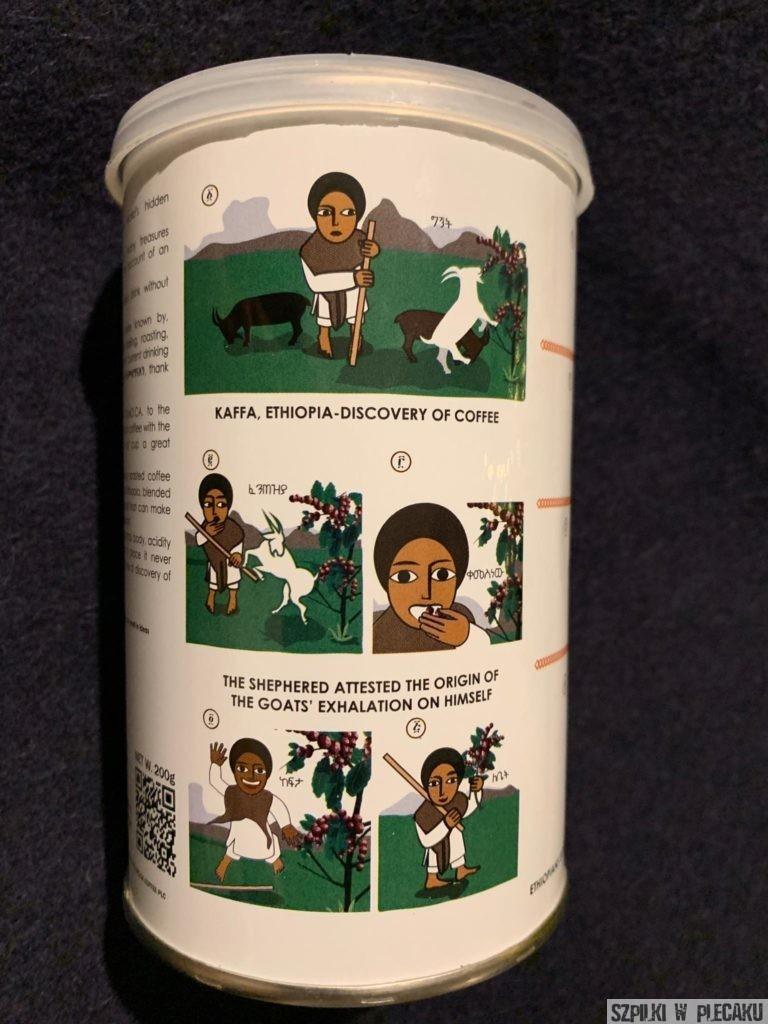 historia etiopskiej kawy