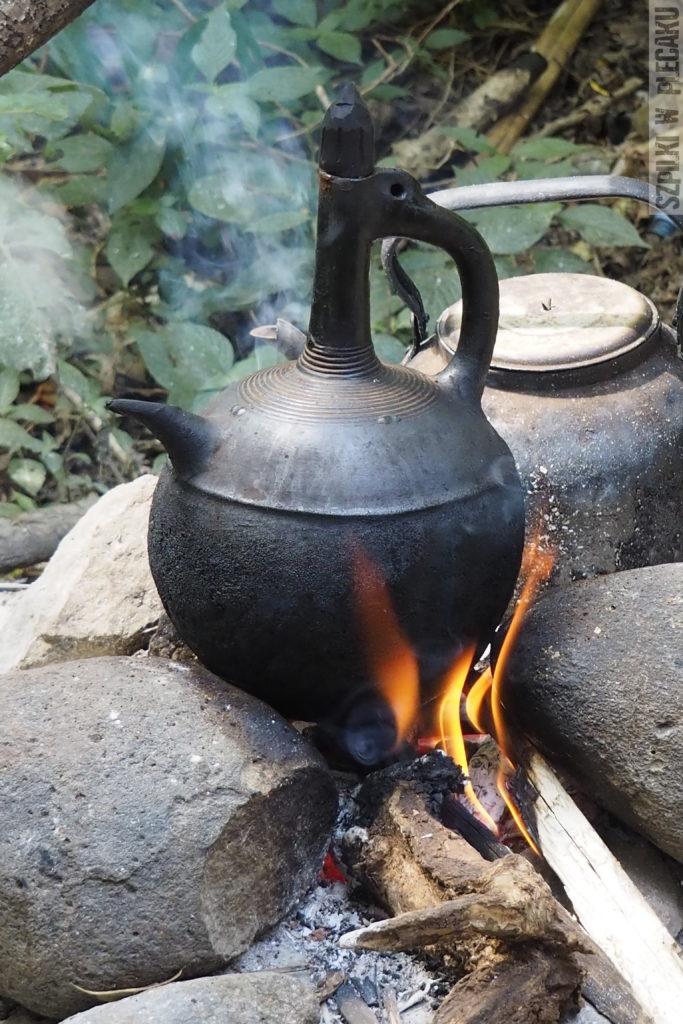 przygotowanie kawy etiopskiej