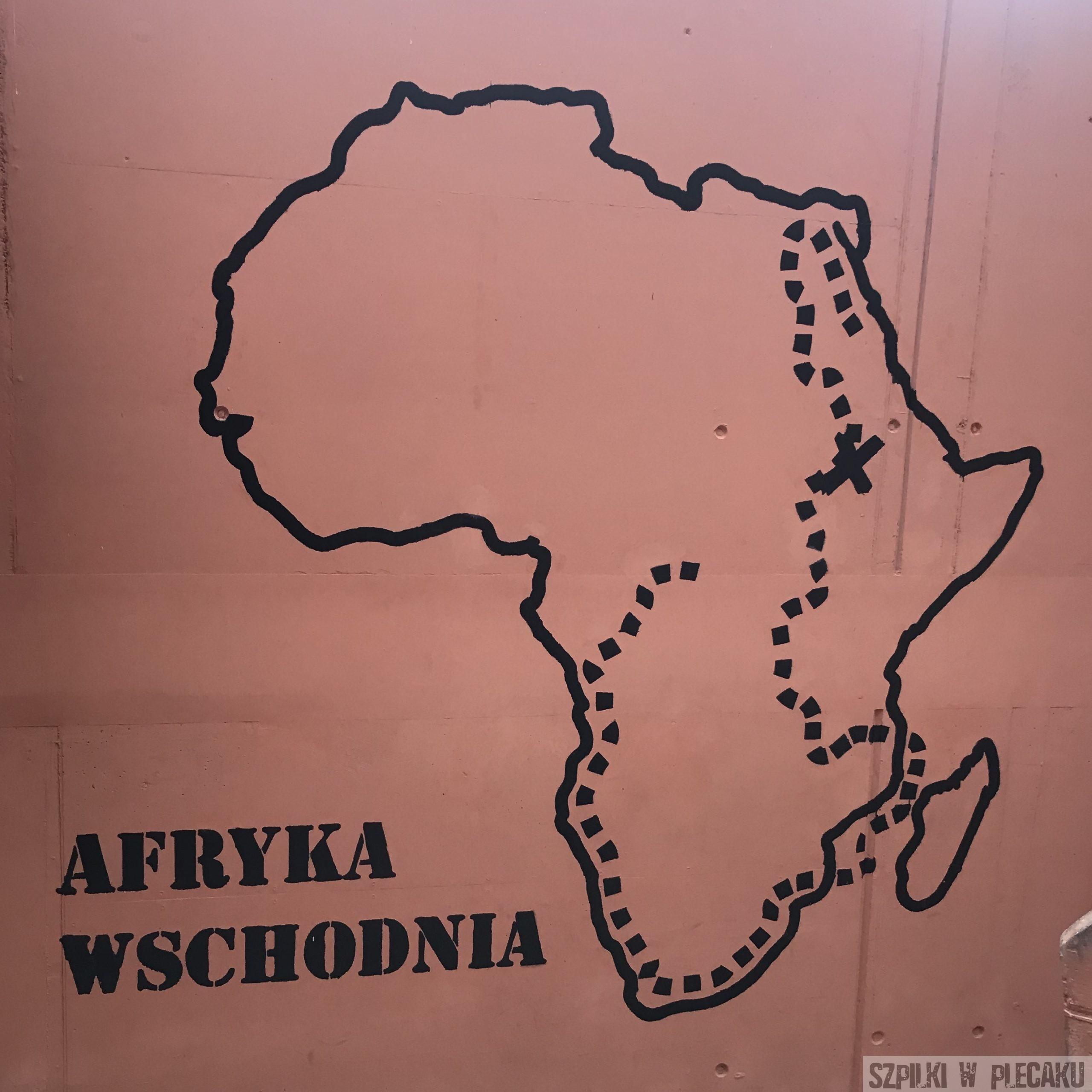 Afrykarium - trasa zwiedzania